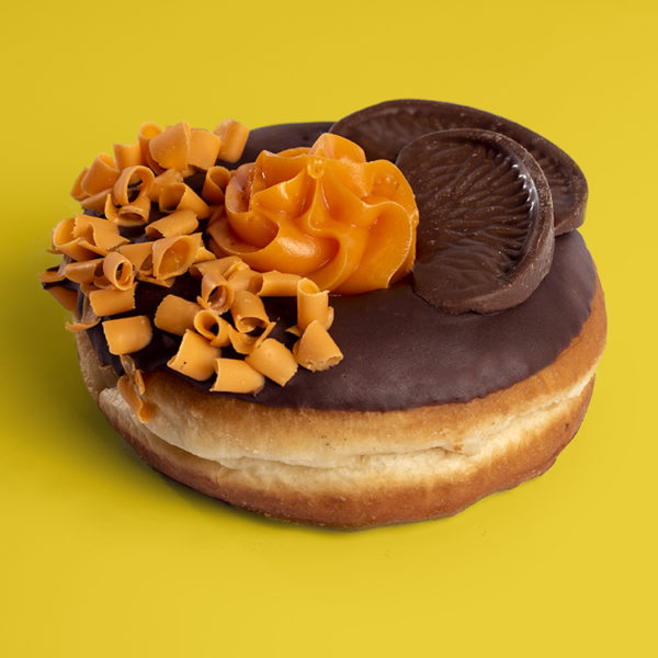 Terry's Chocolate Orange Doughnut | Planet Doughnut Terry's Chocolate Orange