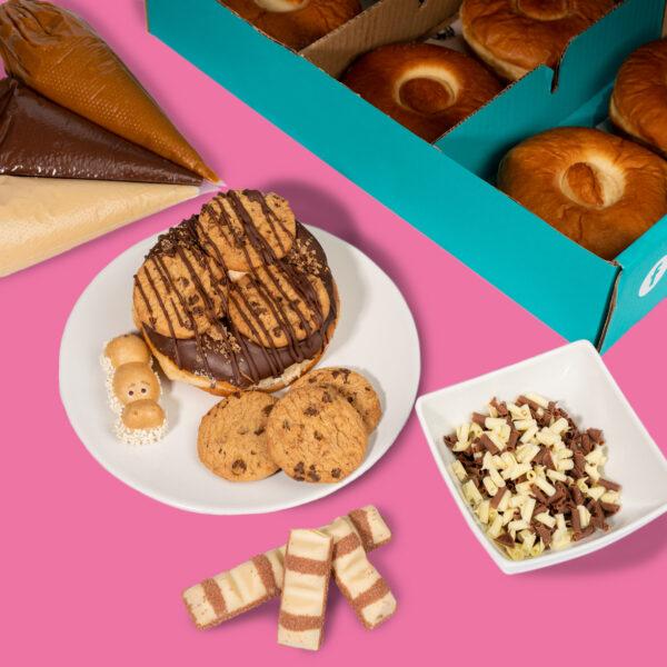 Planet Doughnut DIY Box | Kinder DIY Box | Kinder Doughnut DIY Box
