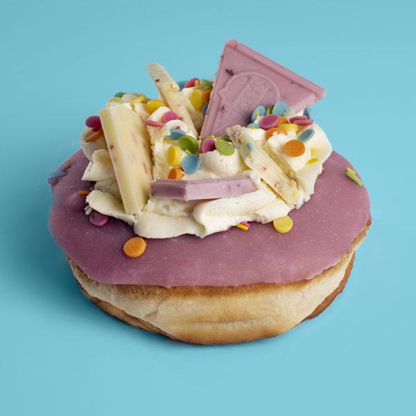 Strawberry & Cream Hershey's Doughnut | Planet Doughnut Hershey's Doughnut