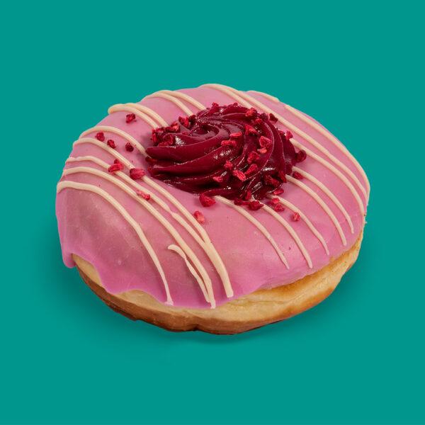 Raspberry Ripple Doughnut | Planet Doughnut Raspberry Ripple